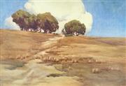 Sale 8544A - Lot 5020 - Gladys Owen (1889 - 1960) - Australian Landscape, 1914 49 x 73cm