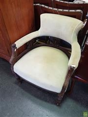 Sale 8570 - Lot 1084 - Victorian Parlour Chair