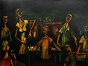 Sale 8597 - Lot 563 - Kevin Charles (Pro) Hart (1928 - 2006) - Singers of the Southern Cross, 1963 91 x 122cm