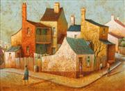 Sale 8624 - Lot 546 - John Pointon (1936 - ) - Sydneyside 29.5 x 39.5cm