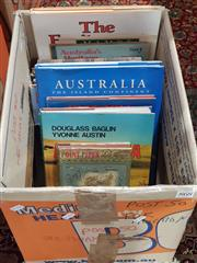 Sale 8822B - Lot 868 - Box of Books on Australia incl. Griffiths, G.N. Point Piper; Bell, K. & Wigney, I. This is Sydney; Baglin, D. & Austin, Y. Aust...