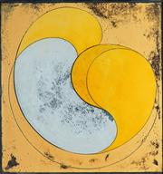 Sale 8938 - Lot 559 - Geoff Thornley (1940 - ) - Untitled, 1973 76.5 x 72 cm