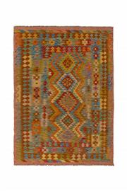 Sale 8918C - Lot 16 - Afghan Maymana Kilim, 140x195cm, Handspun Wool
