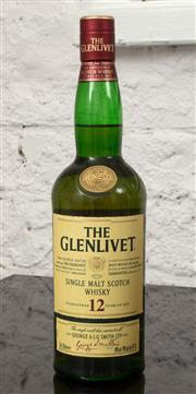 Sale 9066H - Lot 155 - One bottle of Glenlevit 12 year old scotch whisky.