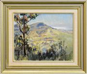 Sale 8297 - Lot 584 - Henry Edgecombe (1881 - 1954) - View to Stanwell Top 30 x 37cm