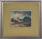 Sale 8358 - Lot 542 - George Feather Lawrence (1901 - 1981) - Untitled (Forrest Castle) 20 x 25.5cm
