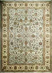 Sale 8390C - Lot 65 - Jaipor Silk & Wool 215cm x 135cm
