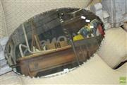 Sale 8431 - Lot 1052 - Art Deco Scalloped Edge Mirror