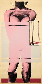 Sale 8492A - Lot 5014 - Peter Powditch (1942 - ) - Recess B, 1969 91 x 45cm