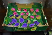 Sale 8507 - Lot 1057 - Box of Split African geodes