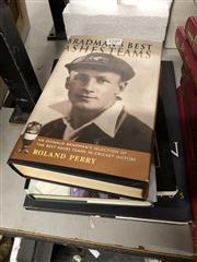 Sale 8819 - Lot 2345 - Collection of Cricket Books, inc, Bradmans Best, Richie Benaud, Images of Waugh and Sir Donald Bradman A.C.