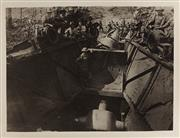 Sale 9092P - Lot 3 - Big 15 Gun Emplacement - Germans destroyed same when compelled to Evacuate. Photo shows the muzzle of this particular Pea Shooter
