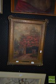 Sale 8522 - Lot 2027 - Artist Unknown - Poinciana 35 x 24.5cm