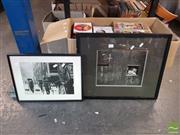 Sale 8552 - Lot 2071 - 2 Framed Photographs