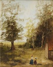 Sale 8711 - Lot 2005 - Thomas Fuller - Back to School 24 x 19cm