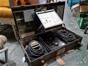 Sale 8809B - Lot 657 - Electric Weighing Unit model S/5 serial number 499 manufactured by Stevens Aircraft Corporation Mineola New York complete with log b...