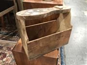 Sale 8822 - Lot 1811 - A Vintage Timber Shoe Shine
