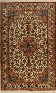 Sale 8447C - Lot 11 - Kashmiri Silk 155cm x 96cm