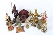 Sale 8748 - Lot 79 - Asian Buddha And Deity Collection
