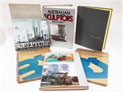 Sale 8822B - Lot 748 - A Collection of Art Reference books inl. Ken Scarlett Äustralian Sculptors, Spear, Brancusi Birds