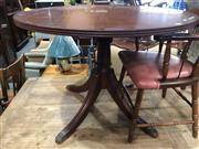 Sale 8822 - Lot 1878 - Single Pedestal Dining Table