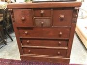 Sale 8868 - Lot 1576 - Mahogany Chest of 7 Drawers