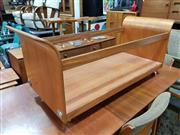 Sale 8930 - Lot 1047 - G-Plan Tulip Coffee Table on Castors