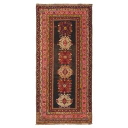 Sale 9124C - Lot 2 - Vintage Caucasian Karabagh Rug, Circa 1950, 130x280cm, Handspun Wool