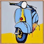 Sale 8408 - Lot 539 - Jasper Knight (1978 - ) - Blue Tuesday, 2016 60 x 60cm