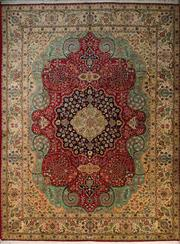 Sale 8418C - Lot 3 - Persian Tabriz 385cm x 290cm