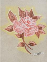 Sale 8513 - Lot 2063 - John Dynon (1954 - ) - Rose 28.5 x 21cm