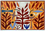 Sale 8659A - Lot 5012 - John Coburn (1925 - 2006) - Resurrection, 1988 55 x 74.5cm