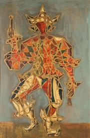 Sale 8791 - Lot 589 - William Drew (1928 - 1983) - Untitled (Dancer) 87 x 57cm