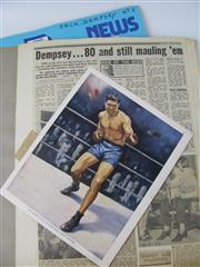Sale 8450S - Lot 722 - Jack Dempsey Scrapbooks (2)