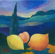Sale 8522 - Lot 2017 - Greg Frawley (1947 - ) - Berrima Still Life 20 x 20cm