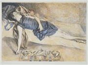 Sale 8522 - Lot 2005 - Brian Dunlop (1938 - 2009) - Sleeping Child 51 x 74cm