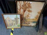Sale 8613 - Lot 2089 - (2 works) Jan De Leener -
