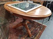 Sale 8744 - Lot 1025 - Pedestal Base Occasional Table