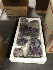 Sale 8819 - Lot 2334 - Tray of Amethyst Crystal
