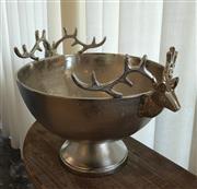 Sale 8858H - Lot 19 - Reindeer Footed Bucket, H 37 x D 40 cm -