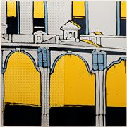 Sale 8938 - Lot 548 - Jasper Knight (1978 - ) - George Street c1900, 2009 120 x 120 cm