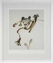 Sale 9087H - Lot 63 - John Olsen - Hanging Tree Frog framed size 98 x 82cm