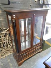 Sale 7943A - Lot 1545 - Mahogany Display Cabinet