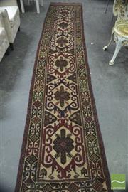 Sale 8284 - Lot 1020 - Persian Sumac Runner (375 x 70cm)