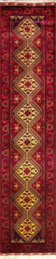 Sale 8307A - Lot 56 - Afghan Beljic 400cm x 80cm RRP $2000