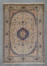 Sale 8472C - Lot 9 - Persian Nain 282cm x 196cm