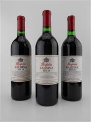 Sale 8479 - Lot 1748 - 3x 1992 Penfolds Bin 28 Kalimna Shiraz, South Australia