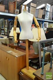 Sale 8515 - Lot 1084 - Articulated Mannequin