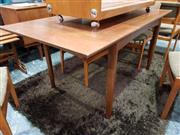 Sale 8930 - Lot 1048 - Vintage Teak Extension Dining Table