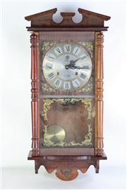Sale 8977 - Lot 20 - Unique 31 Day Wall Clock